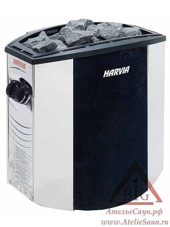 Электрическая печь Harvia Vega Lux BX 90 (со встроенным пультом)