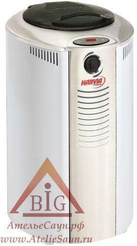 Печь-термос для сауны Harvia Forte AF 9 (белая, со встроенным пультом)