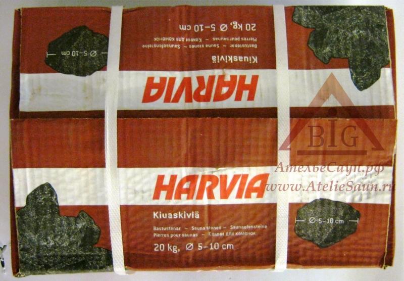 Камни Harvia мелкая фракция (до 10 см, 20 кг, арт. AC3000)