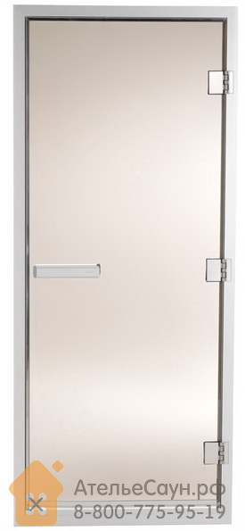 Дверь для турецкой парной Tylo 60 G (778х2100 мм, бронза, алюминий, арт. 90912040)