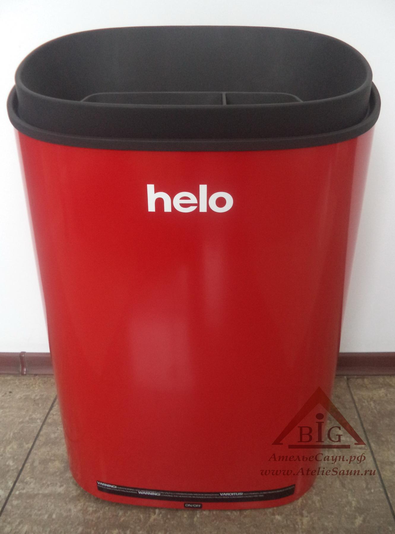 Электрическая печь Helo FONDA DET (8.8 кВт, без пульта T1, красная)