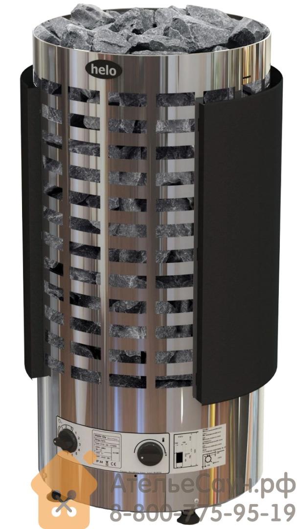 Электрическая печь Helo RINGO VARIO 80 STJ (с пультом, хром)