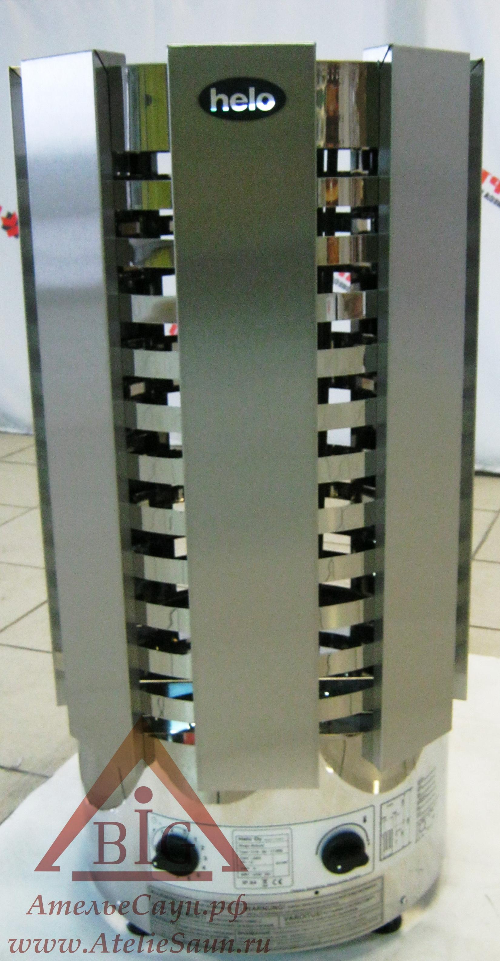 Электрическая печь Helo RINGO ROBUST 60 STJ (с пультом, хром)