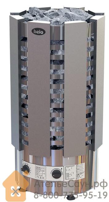 Электрическая печь Helo RINGO ROBUST 80 STJ (с пультом, хром)