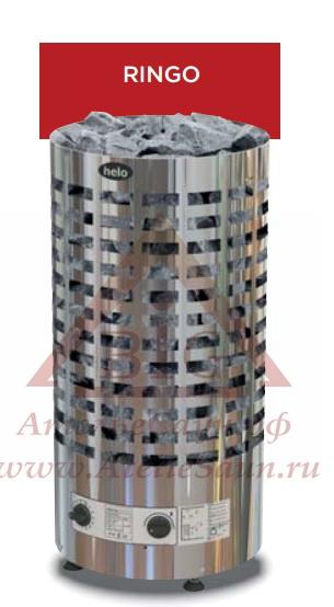 Электрическая печь Helo RINGO 80 STJ (с пультом, хром)