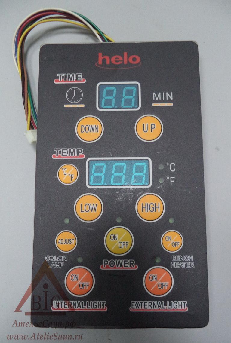 Клавиатура и плата контрольной панели вертикальная для ИК-кабины Helo
