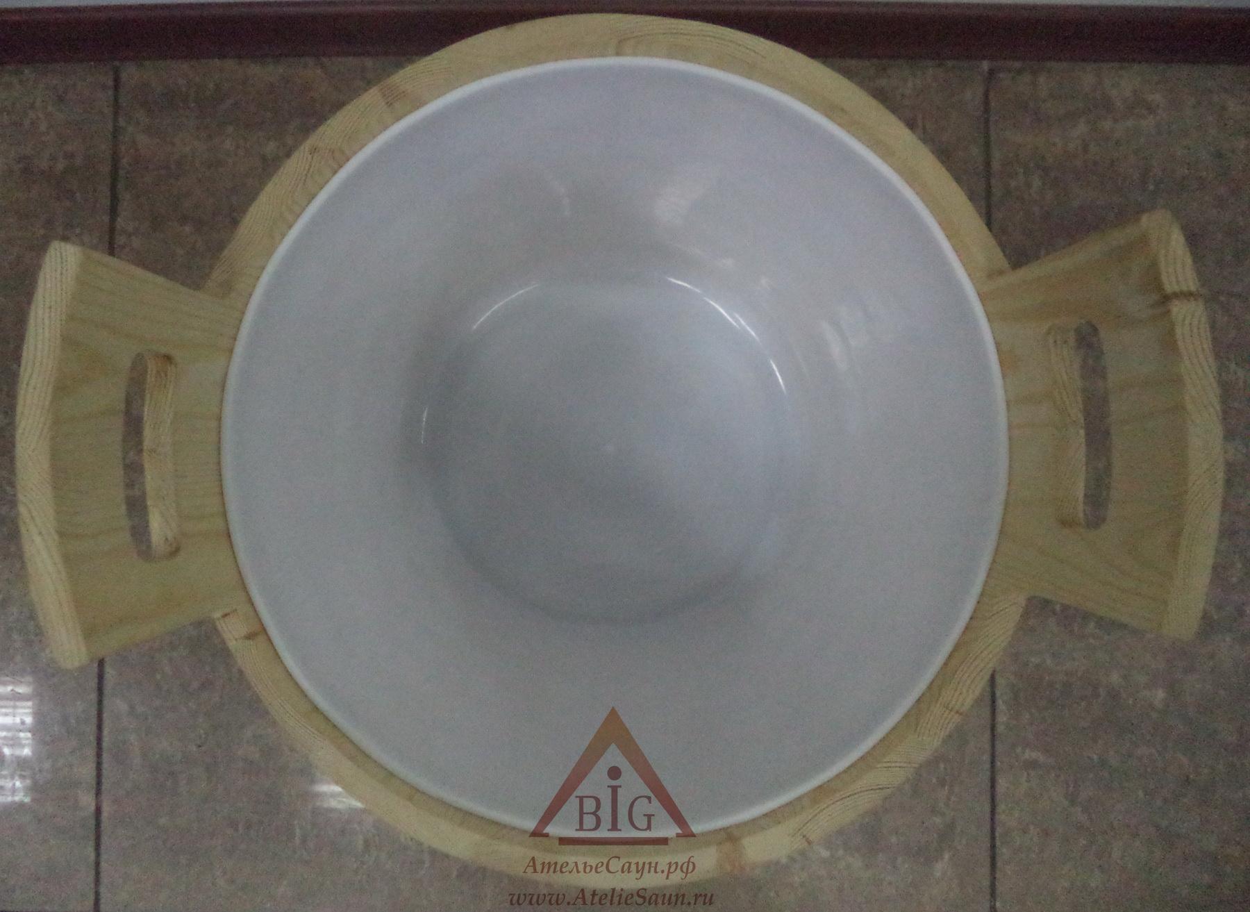 Запарник Sawo 391-P (28 л, сосна, с пластиковой вставкой, без крышки)