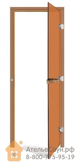 Дверь для бани Sawo 730-3SGDR (7х19, бронза, правая, без порога, кедр)