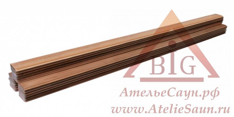 Вагонка Sawo Канадский Кедр (13.8x106 мм, м.п.)
