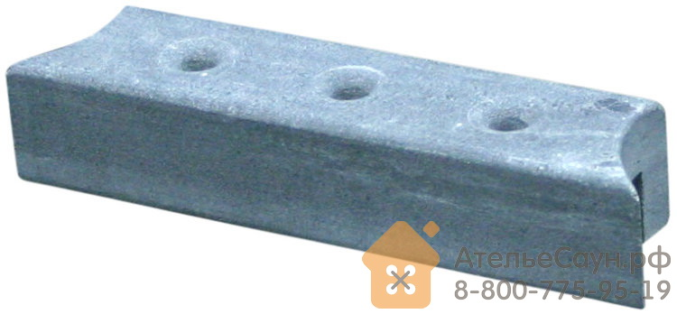 Верхний талькохлоритный элемент 1 Sawo (300х70х60 мм, для Nimbus)