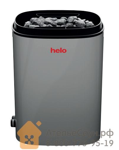 Электрическая печь Helo FONDA ST (4.4 - 6.6 кВт, с пультом, серая)
