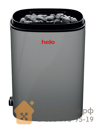 Электрическая печь Helo FONDA ST (8 кВт, с пультом, серая)