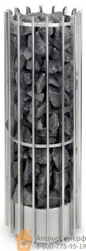 Печь для сауны Helo Rocher 105 DEТ (10,5 кВт, хром, мультинапряжение, без пульта управления, артикул 002723)