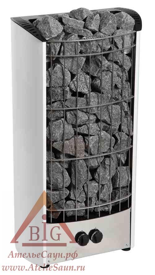 Печь для сауны Harvia Figaro FG 70 V (белая, со встроенным пультом)