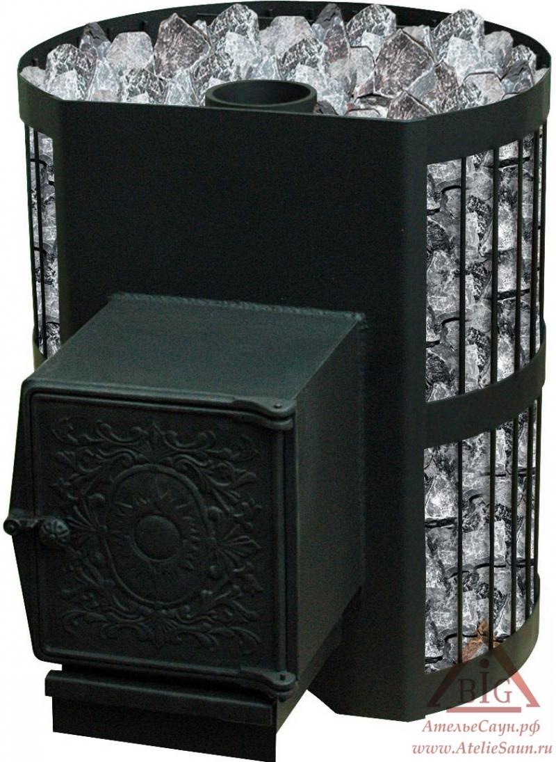 Печь Везувий СКИФ 16 ВЧТ (с теплообменником)