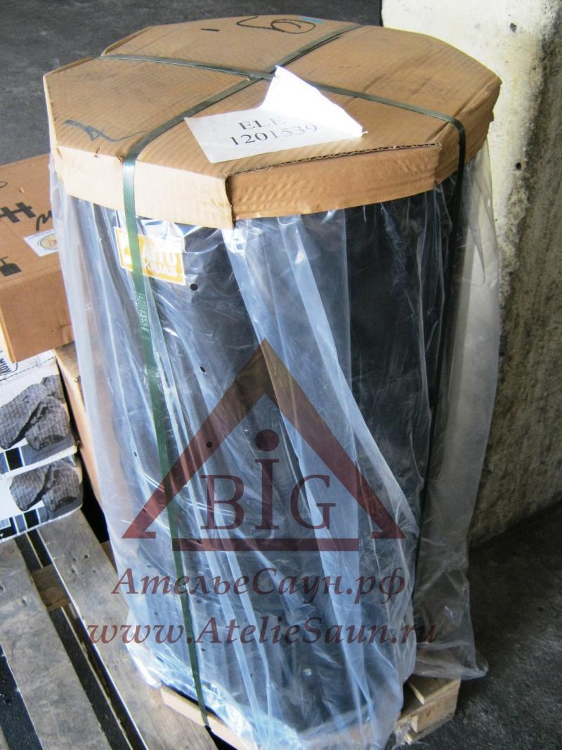 Печь для русской бани Aito AK 47 (с традиционными камнями 100 кг, арт. 2210)