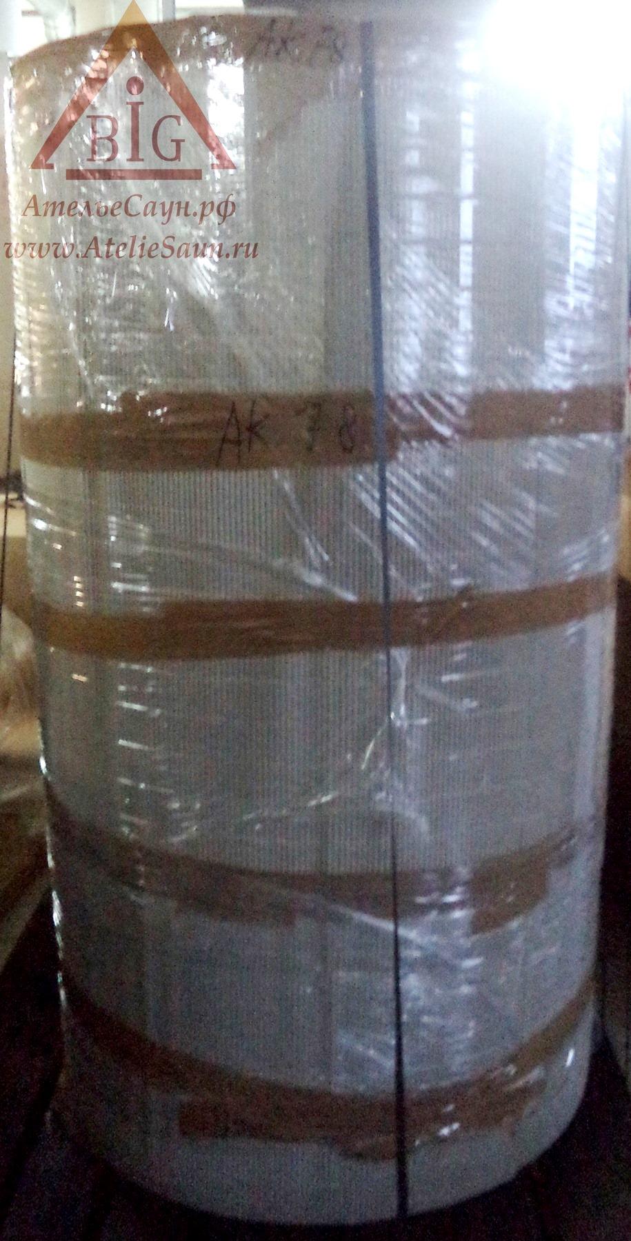 Дровяная каменка Aito АК 78 для русской бани (с керамическими камнями Kerkes 270 кг, арт. 2240К)
