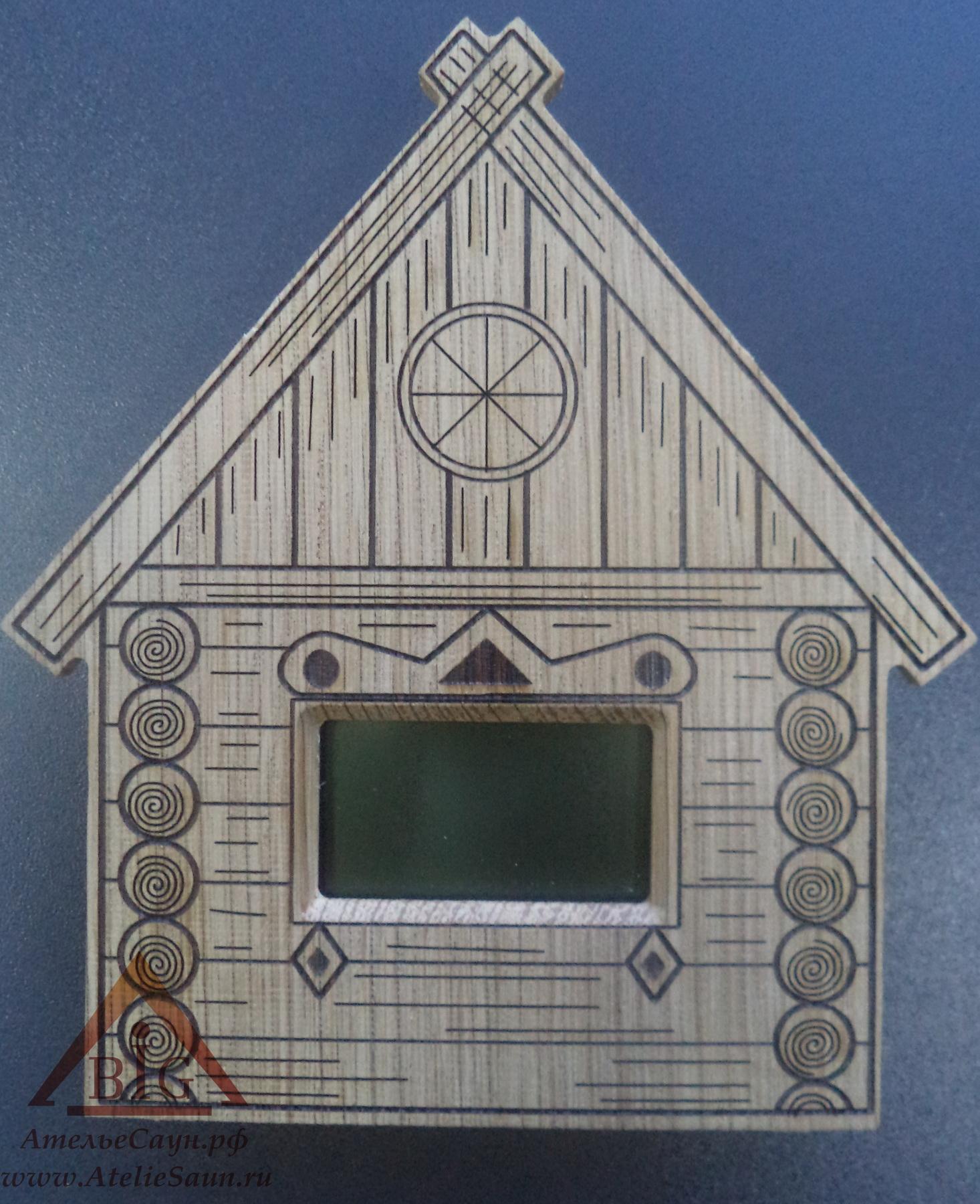 Выносной электрон. термометр для сауны ТЭС-ЛЮКС Банька (датчик в парной, табло снаружи)