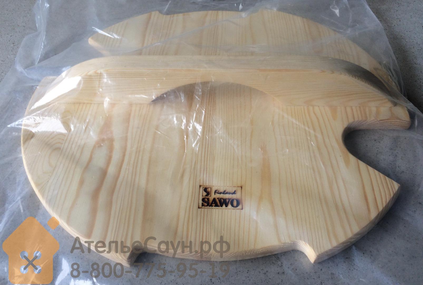 Деревянная крышка Sawo 381-P-COV (для запарника 381-P)