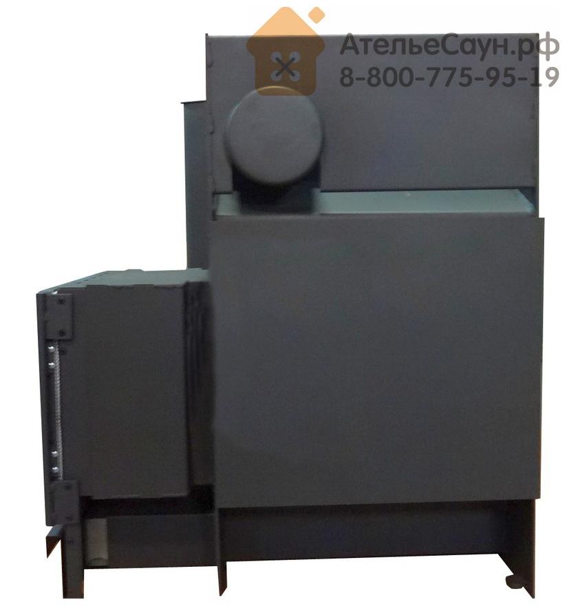 Печь для бани Kastor KSIS 37 TS (с боковым выходом дымохода, рамка хром, без кожуха, арт. 083382)