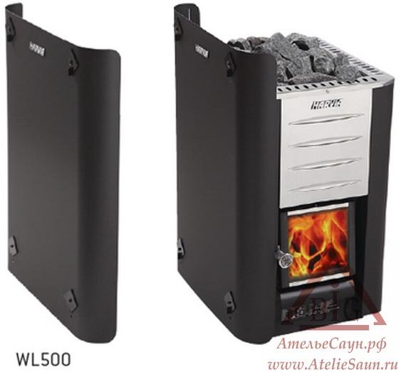 Защитное ограждение Harvia (боковое, для печей Harvia 20 Pro/SL/Duo/Boiler), WL 500