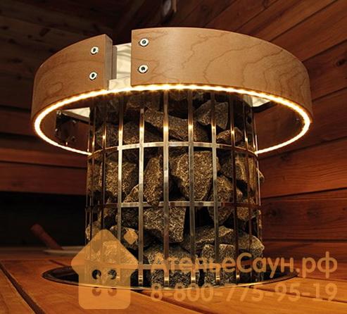 Защитное ограждение для печей Harvia Cilindro со светодиодной подсветкой, HPC3L