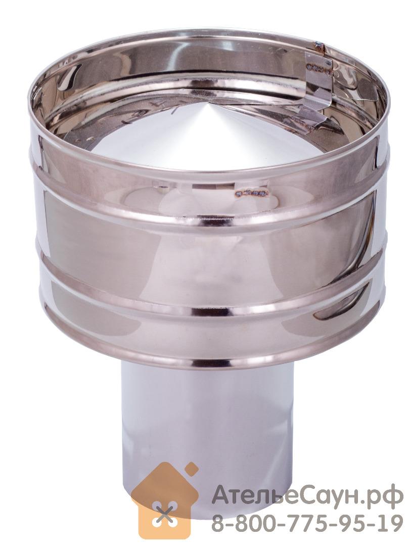 Дефлектор D115 мм (зонт+искрогаситель)