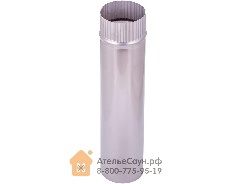 Труба голая D115 мм L = 0,5 м (нерж. 0,5 мм AISI 304)