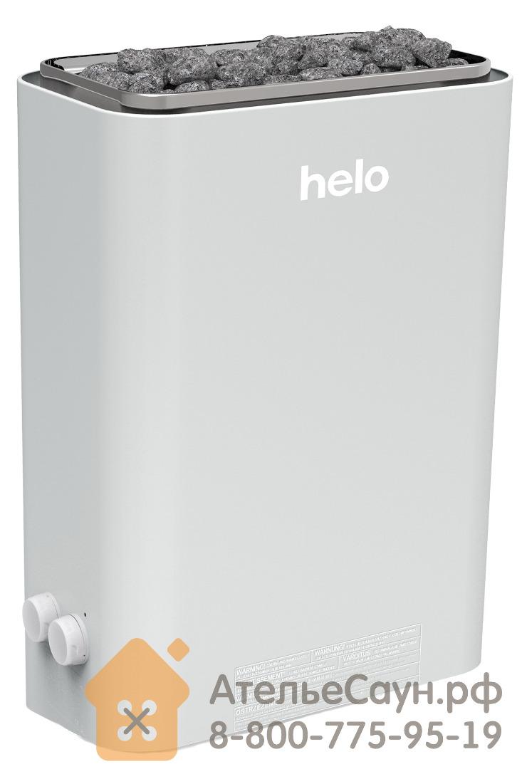 Электрическая печь Helo VIENNA 45 STS (с пультом, серая)