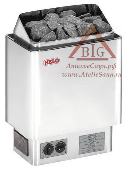Электрическая печь Helo CUP 80 ST (с пультом, нержавеющая сталь)
