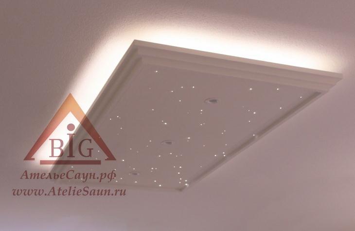 Плита Cariitti Звездное небо (1589037, 2400х1200 мм, требуется набор для подсветки)