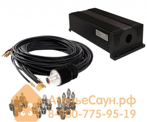Комплект Cariitti VPL30T - Crystal Star для хаммама (1527610, 100+18 точек, хром, мерцание)