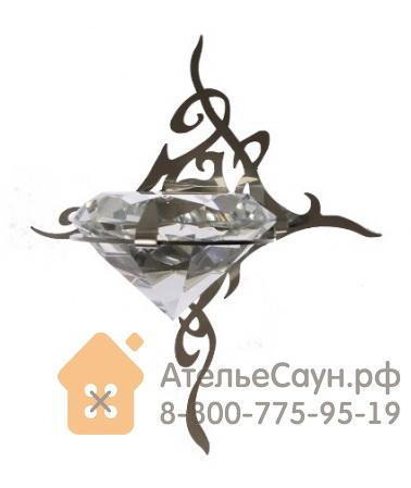 Светильник для турецкой парной Cariitti Kihla (1545184, IP67, хрусталь, нерж. сталь, светодиод)