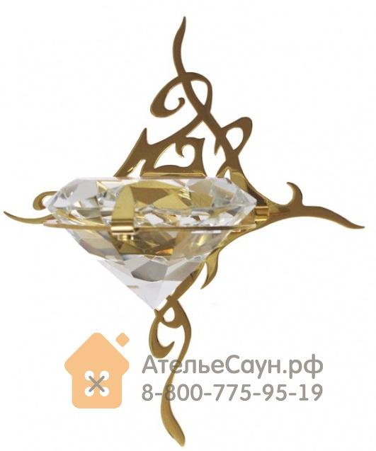 Светильник для турецкой парной Cariitti Kihla (1545185, IP67, хрусталь, золото, светодиод)