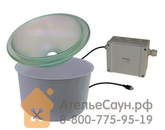 Шайка для сауны Cariitti IB320 с водослив. отверстием (1545220, со светодиодной подсветкой)