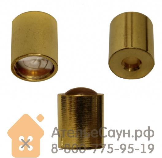 Линза Cariitti CR-09 (1540082, золото, резьба М5, для волокна D=1-3 мм)