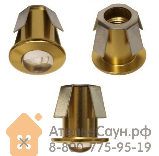 Линза Cariitti CR-05 (1540053, золото, линза прозрачная, D внешний = 18 мм)