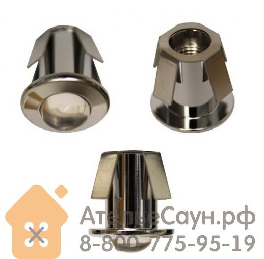 Линза Cariitti CR-05 (1540054, хром, линза прозрачная, D внешний = 18 мм)