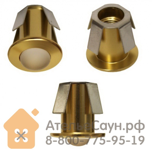 Линза Cariitti CR-05 (1540100, золото, линза матовая, D внешний = 18 мм)
