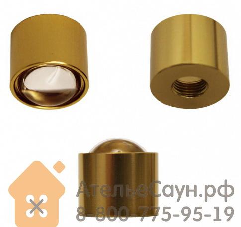 Линза Cariitti CR-18 (1538006, золото, D монтаж. отв. = 8.5 мм, D внешний = 18 мм)