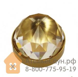 Хрустальная насадка Cariitti CR-30 (1540073, золото, D кристалла = 30 мм)