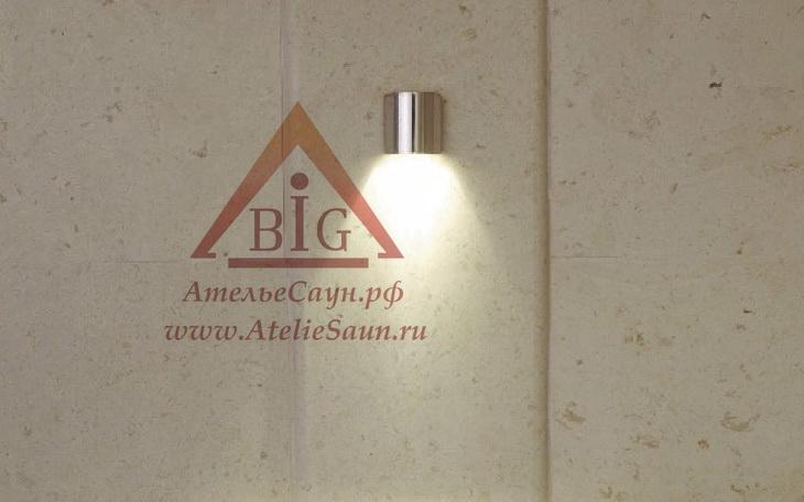Светильник для сауны Cariitti SY (1545032, золото, требуется 1 оптоволокно D=4-6 мм)