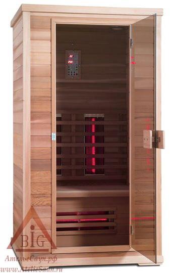 Инфракрасная сауна KOY H01-K6 (1-местная, 110х100х200 см, хемлок)
