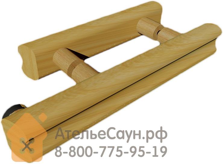 Дверь для сауны АКМА Aspen M 7х19 (прозрачное бесцветное, 8 мм, коробка осина)