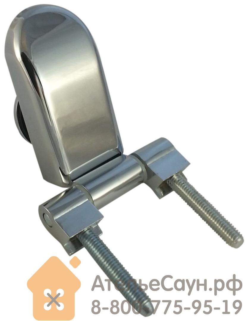 Дверь для сауны и бани АКМА Aspen M 6х18 (матовая бронза, 8 мм, коробка осина, арт. 243M)