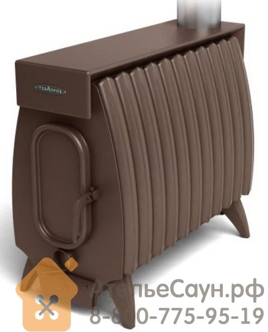 Отопительная печь Термофор ОГОНЬ-БАТАРЕЯ 11 ЛАЙТ (шоколад)