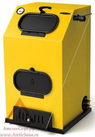 Водогрейный котел Термофор ПРАГМАТИК ЭЛЕКТРО (30 кВт, АРТ, ТЭН 12 кВт, желтый)