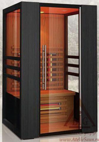 Инфракрасная сауна KOY JK-R8201 (2-местная,  красный канадский кедр, 120х105х195 см)