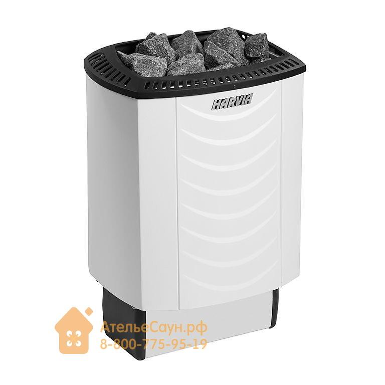 Электрическая печь Harvia Sound M 60 (белая, со встроенным пультом)