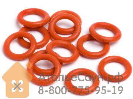 Уплотнительное кольцо для ТЭН Harvia (красное)